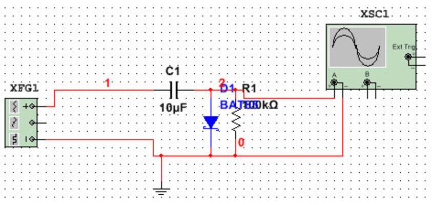 clamper-circuit